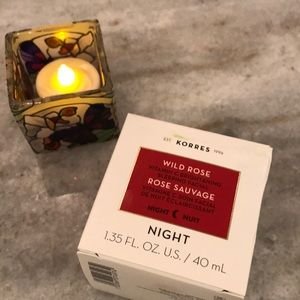 Korres wild rose night cream